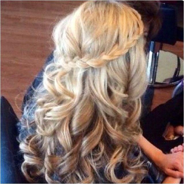 Love the hair colour, plait and curls