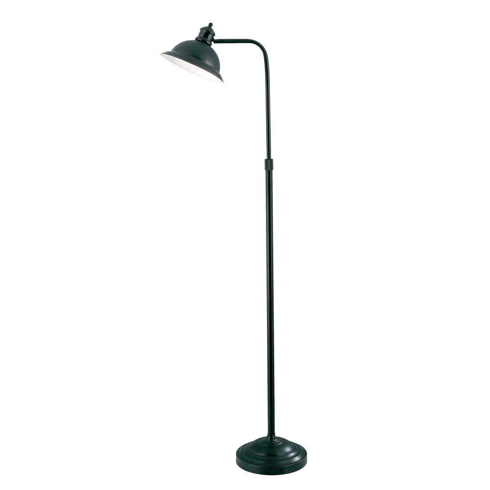 Illumine 1 Light Floor Lamp Aged Copper Finish With Images Energy Efficient Light Bulbs