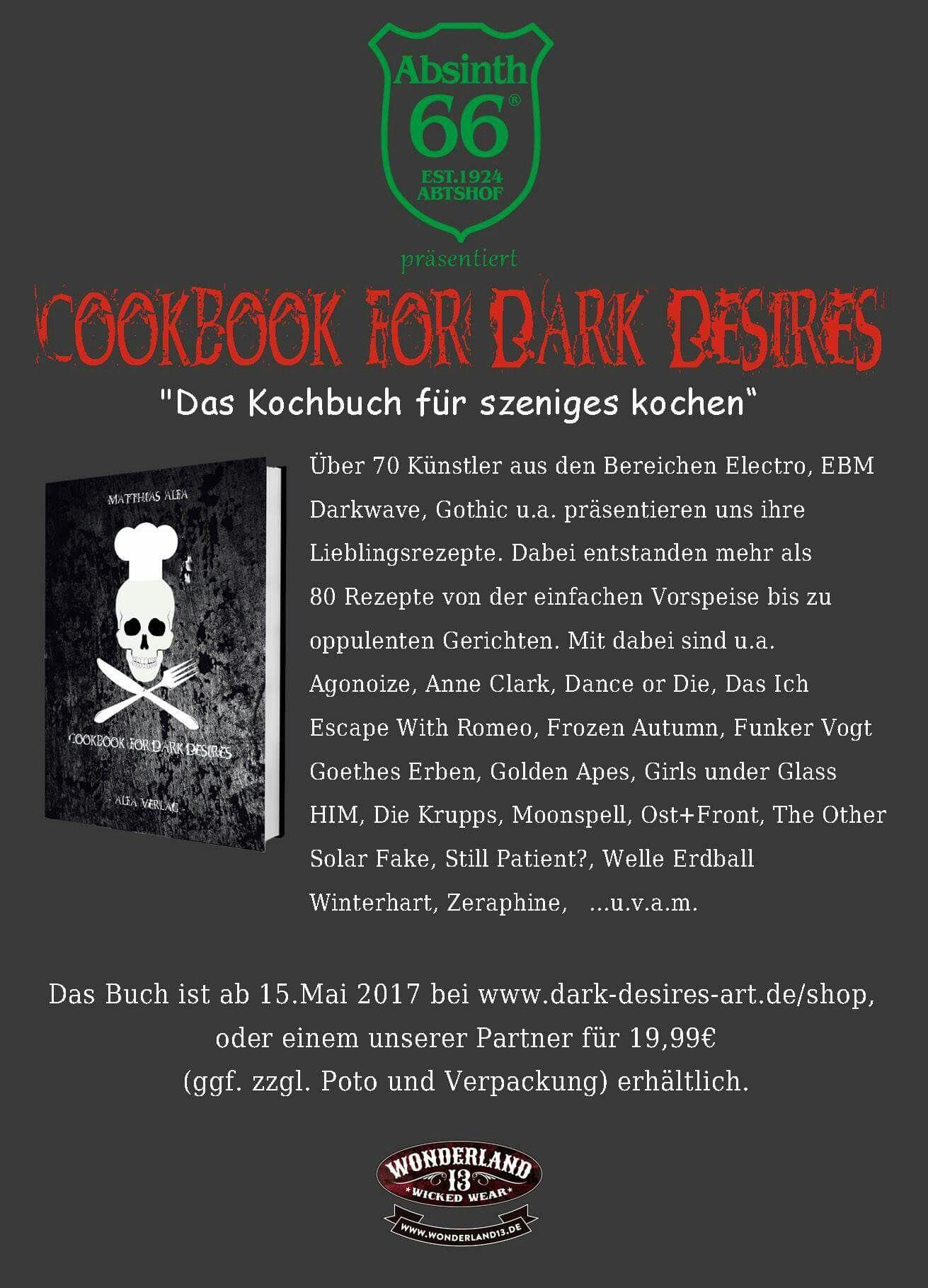 Die Zeit Luft Nutzt Chance Und Bestellt Das Cookbook For Dark