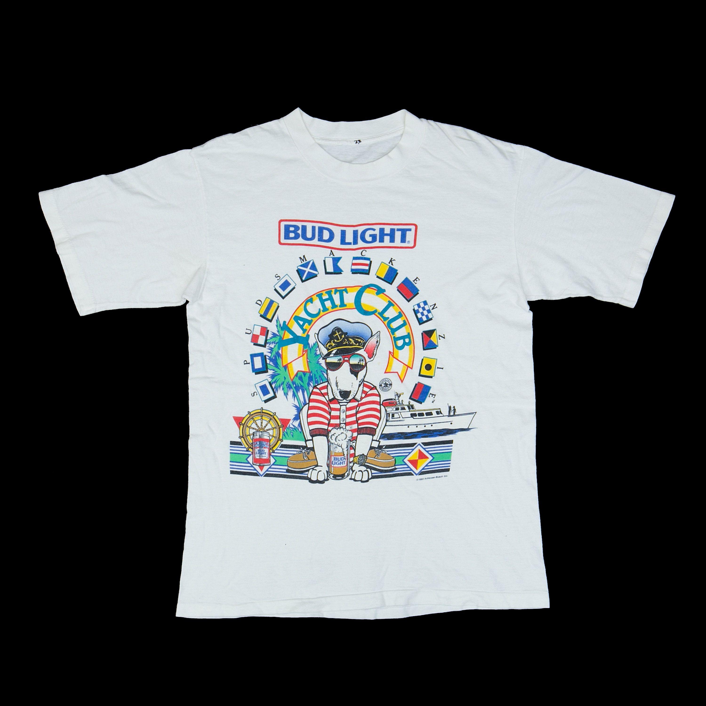 Yacht Club Beer: Vintage 80s // SPUD MACKENZIE // Bud Light T-Shirt