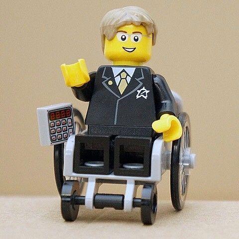 Lego Stephen Hawking