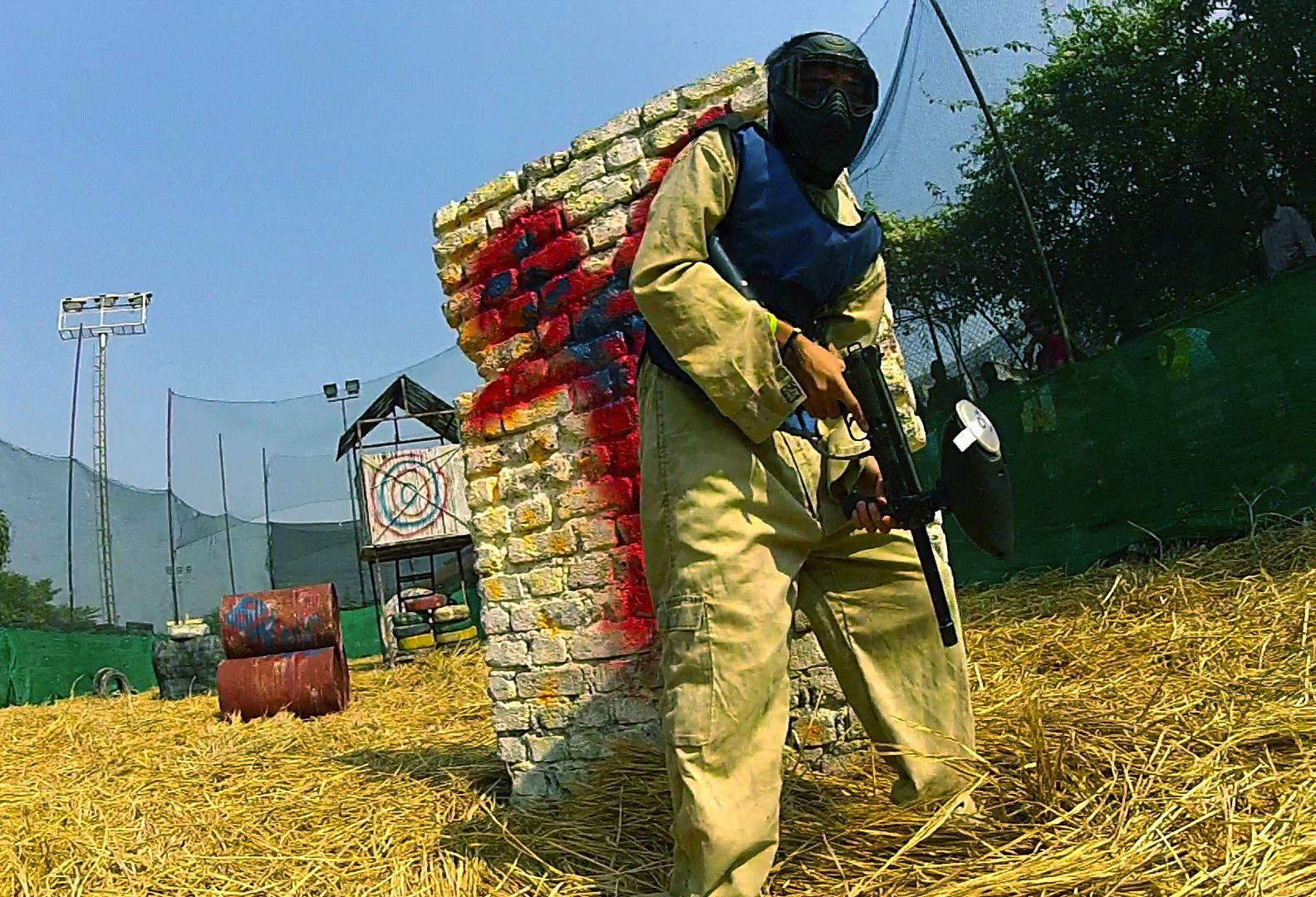 The #Headrush #Paintball : Clash of Nations