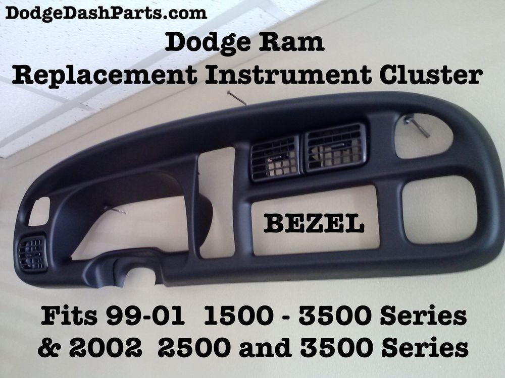 1999 dodge ram 1500 instrument cluster