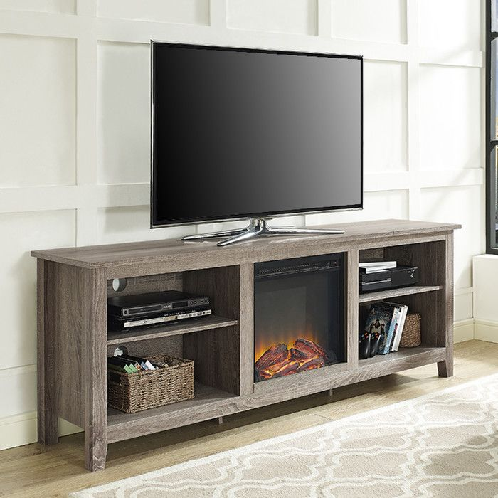 You Ll Love The Sunbury Tv Stand With Electric Fireplace At