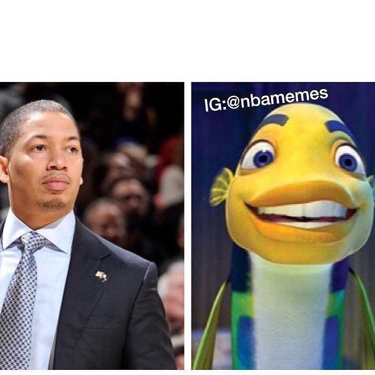 Instagram Photo By Truesportsfan Jun 3 2016 At 2 12am Utc Nba Memes Sports Humor Tyronn Lue