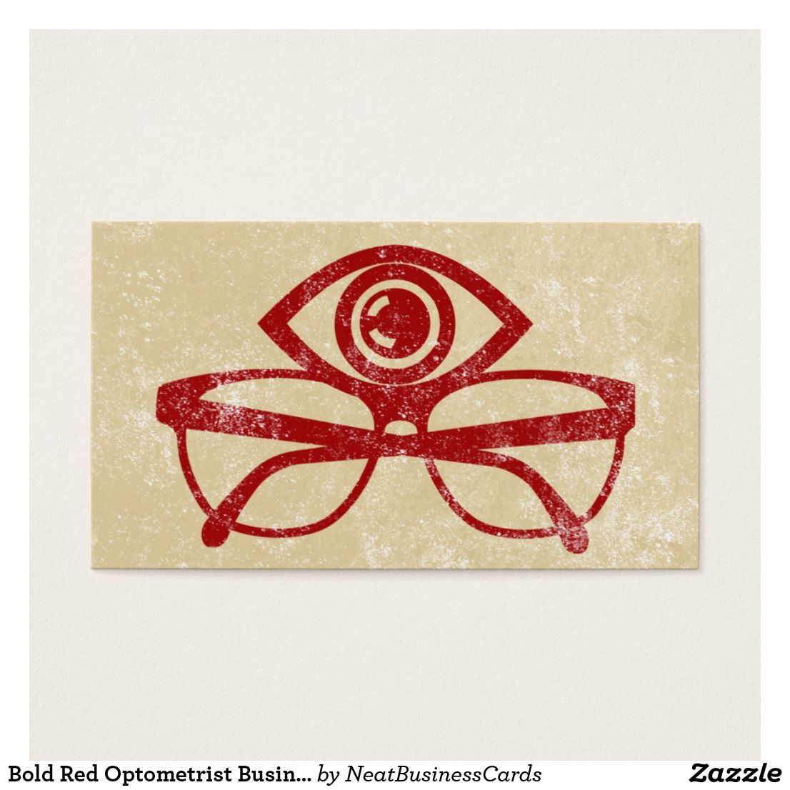 Bold red optometrist business cards pinterest bold red optometrist business cards custom check out more business card designs at httpzazzlebusinesscreations or at httpzazzle reheart Image collections