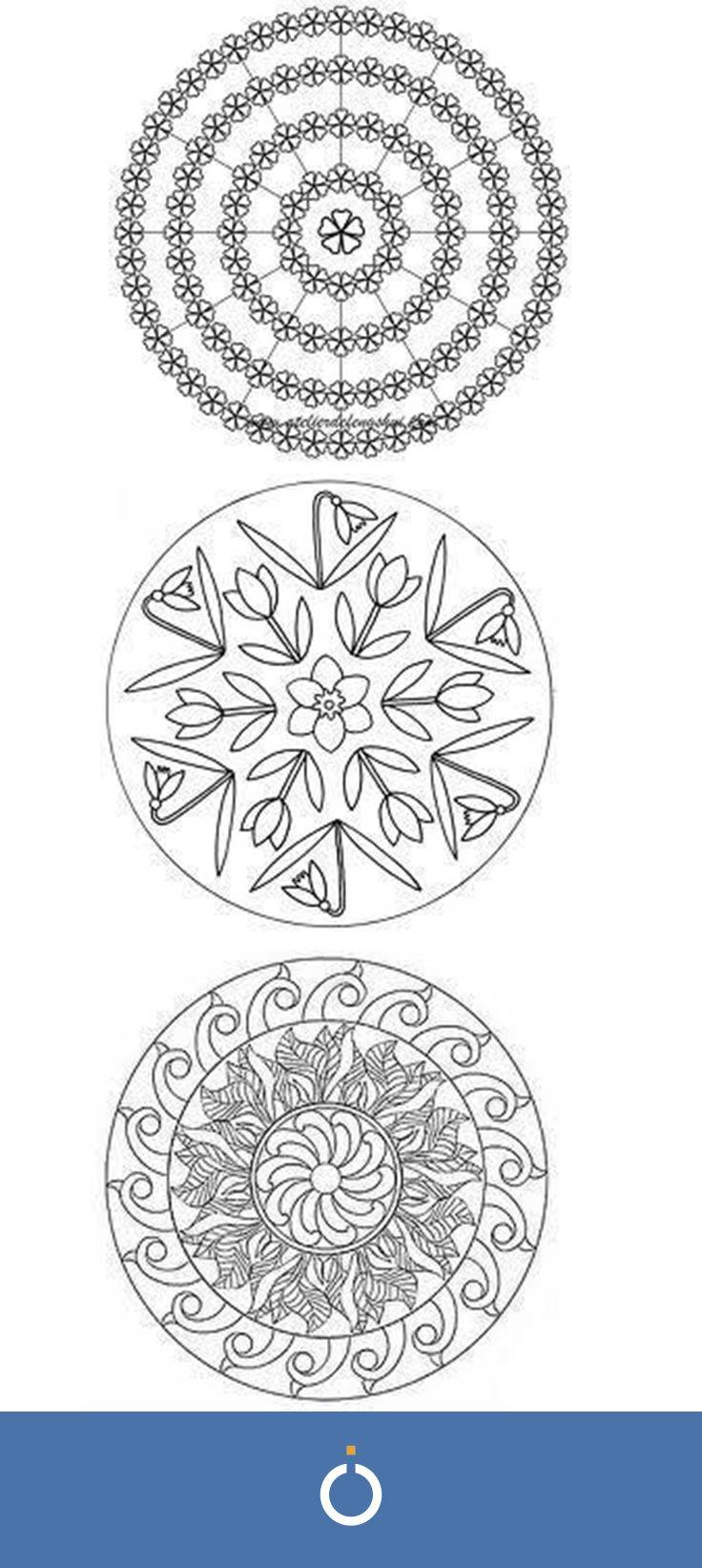 Mandala Di Primavera 8 Passi Arte E Oggetti Fatti A Mano