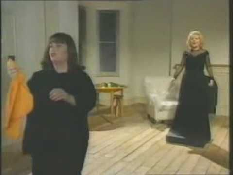 Marlene Dietrich Parody by French and Saunders - YouTube
