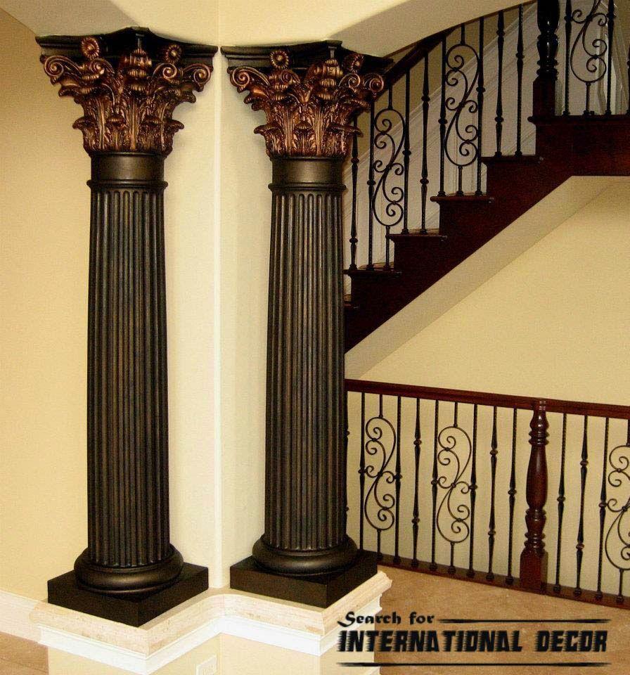 Decorative Interior Columns Fiberglass   Iron Blog