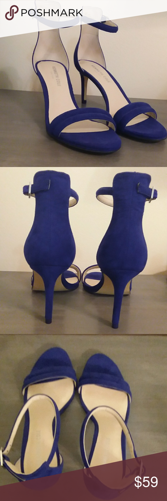 Kenneth Cole Sandals Cobalt blue Kenneth Cole Sandals Kenneth Cole Shoes Sandals