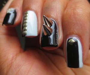 Punk rock nails / #nail #art