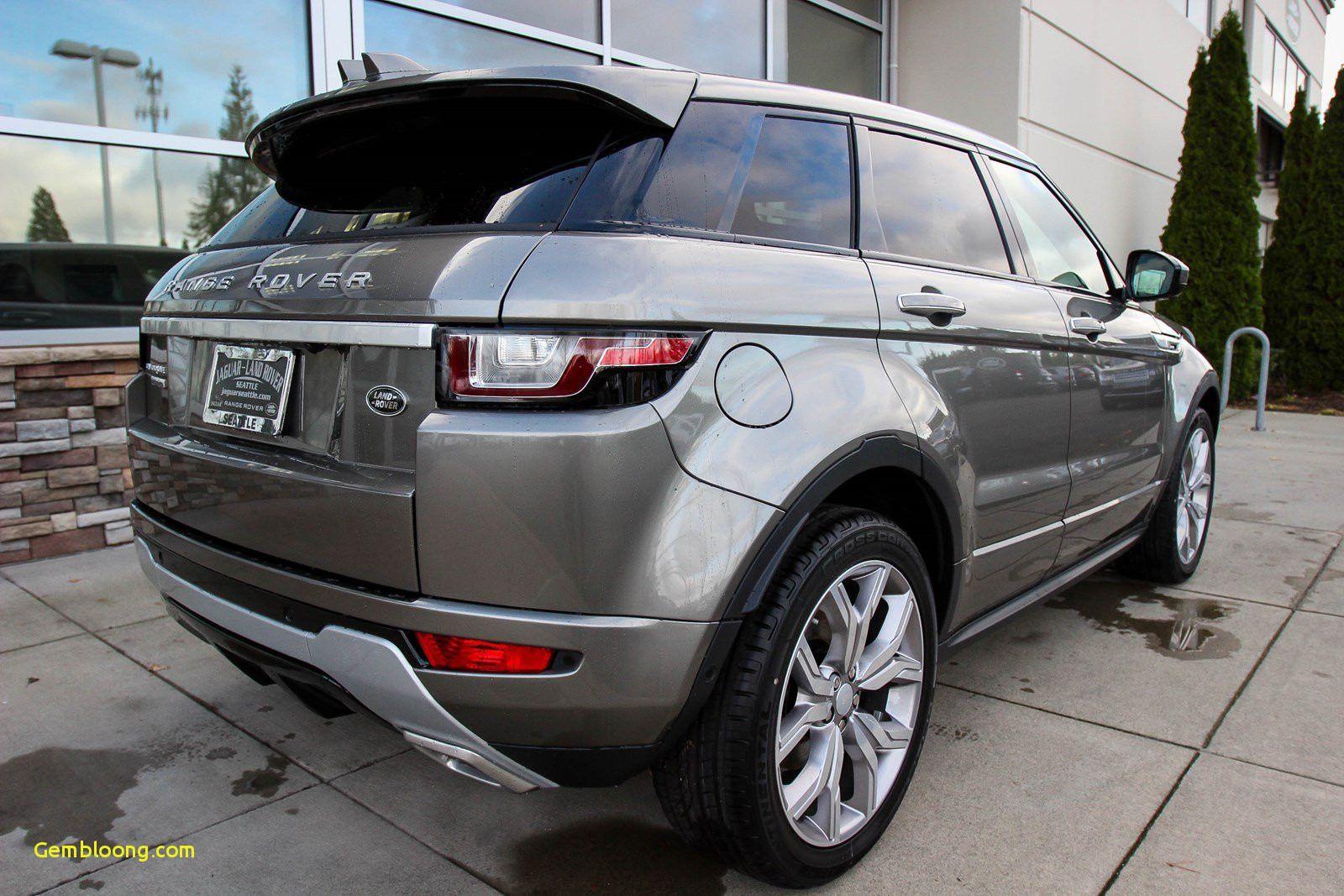 2018 Range Rover Evoque Xl
