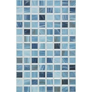 Porcelanosa Eidos 12 In X 8 In Oceano Ceramic Tablet Mosaic Wall Tile P31446031 At The Home Depot Mosaic Wall Tiles Blue Glass Tile Wall Tiles