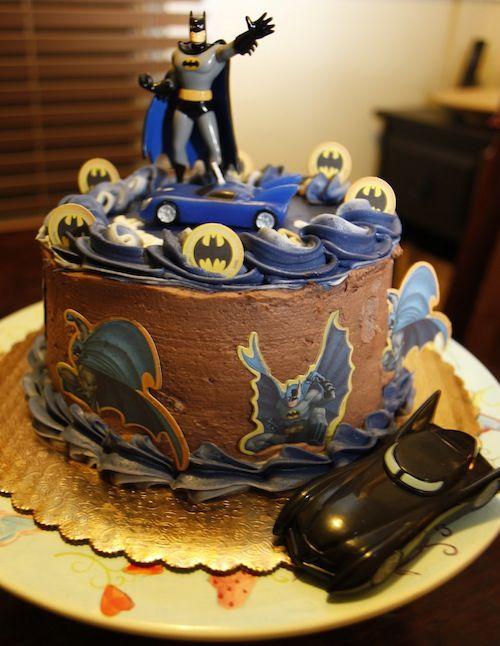 Batman cake topper Batman Birthday Party Cakes and Ideas