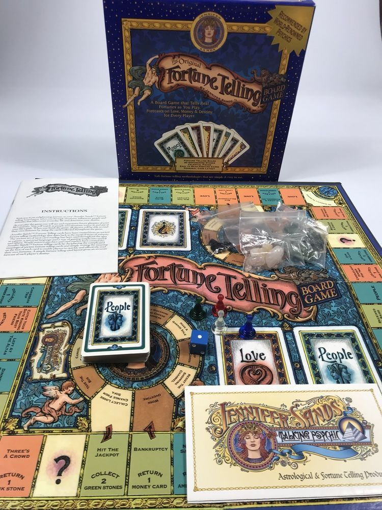 The Original Fortune Telling Psychics Adult Board Game