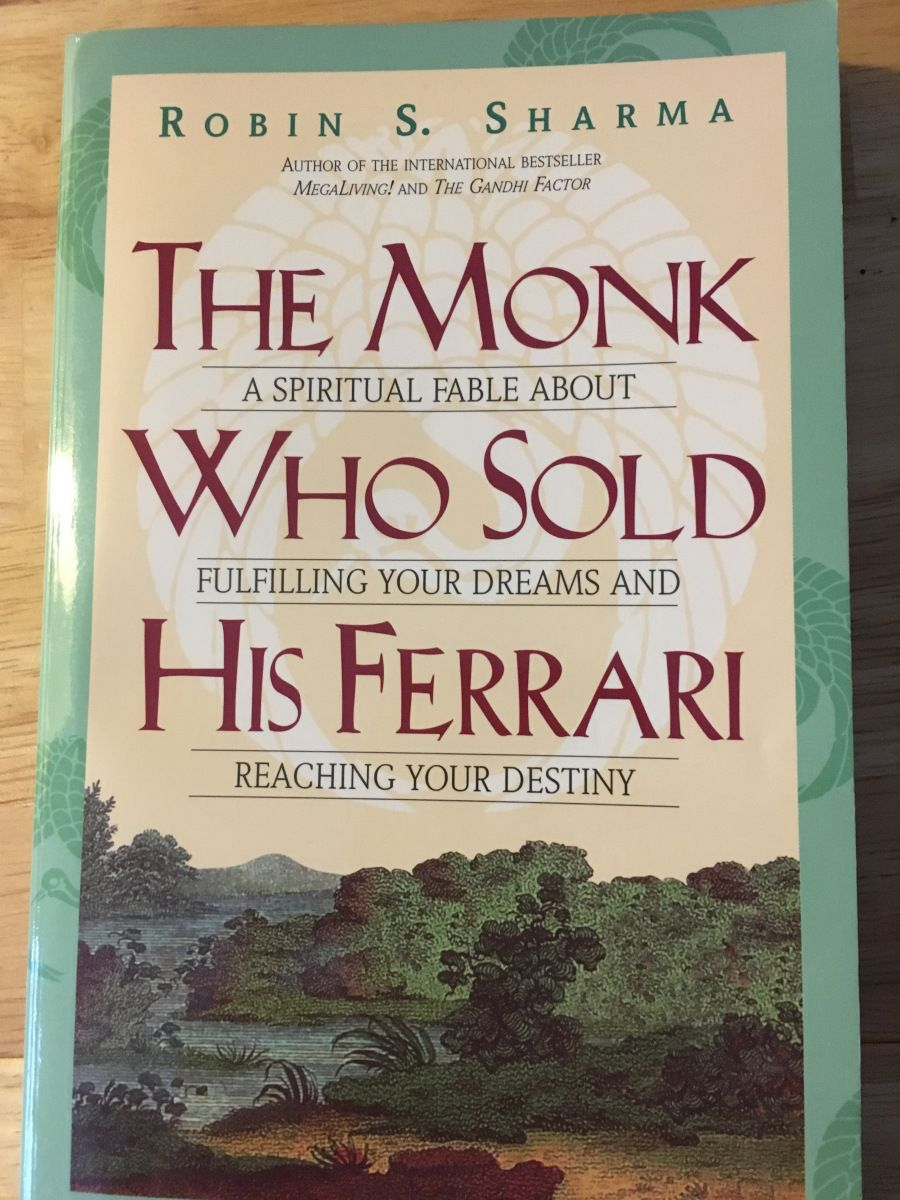 The Monk Who Sold His Ferrari Even His Name Sounds Mystical