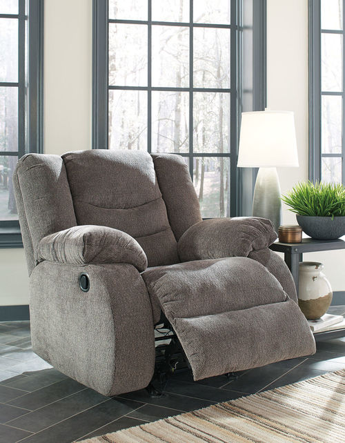 Astonishing Ashley Tulen Gray Rocker Recliner Products Recliner Dailytribune Chair Design For Home Dailytribuneorg