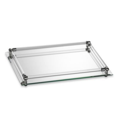 Buy Mirror Vanity Tray In 12 Inch X 9 Inch X 2 Inch From Bed Bath