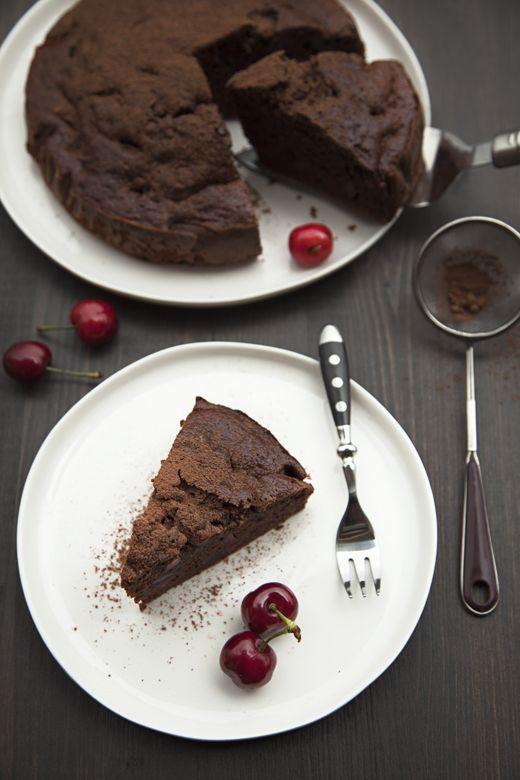 Photo of Torta cioccolato e ciliegie