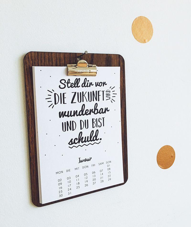 ein blog ber diy essen design und alltag kalender diy. Black Bedroom Furniture Sets. Home Design Ideas