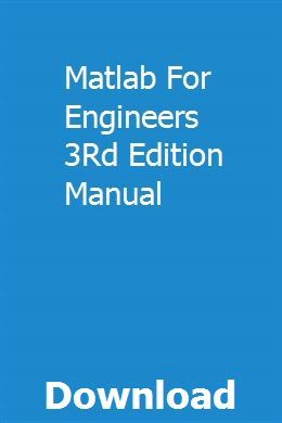 Matlab book for electrical engineers pdf