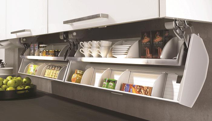 Storage Under Kitchen Cabinets