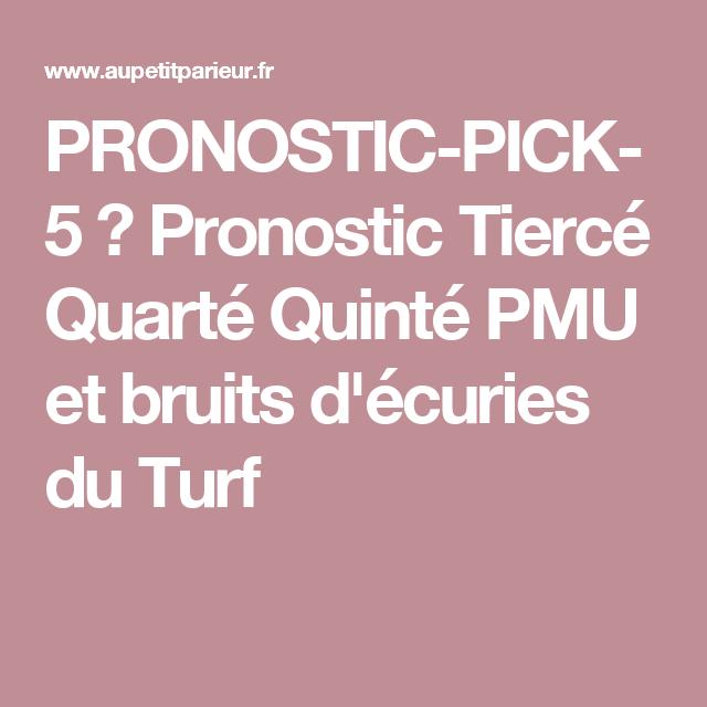 pronostic pick 5 pronostic tierc quart quint pmu et bruits d 39 curies du turf prix de la. Black Bedroom Furniture Sets. Home Design Ideas
