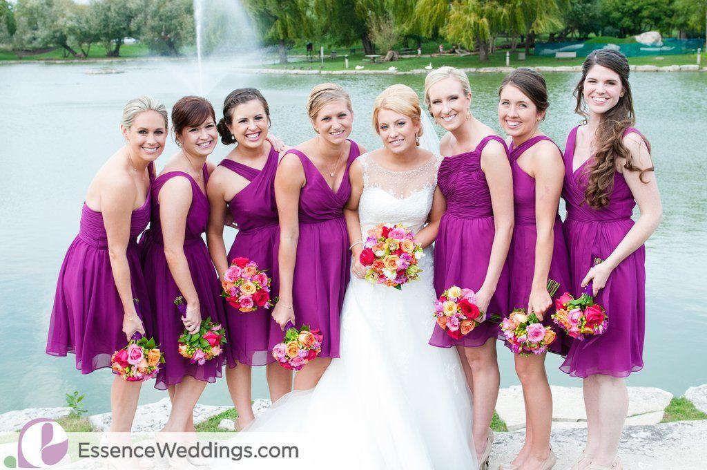 Fall Wedding Colors with a Purple and Orange Twist | Purple ...