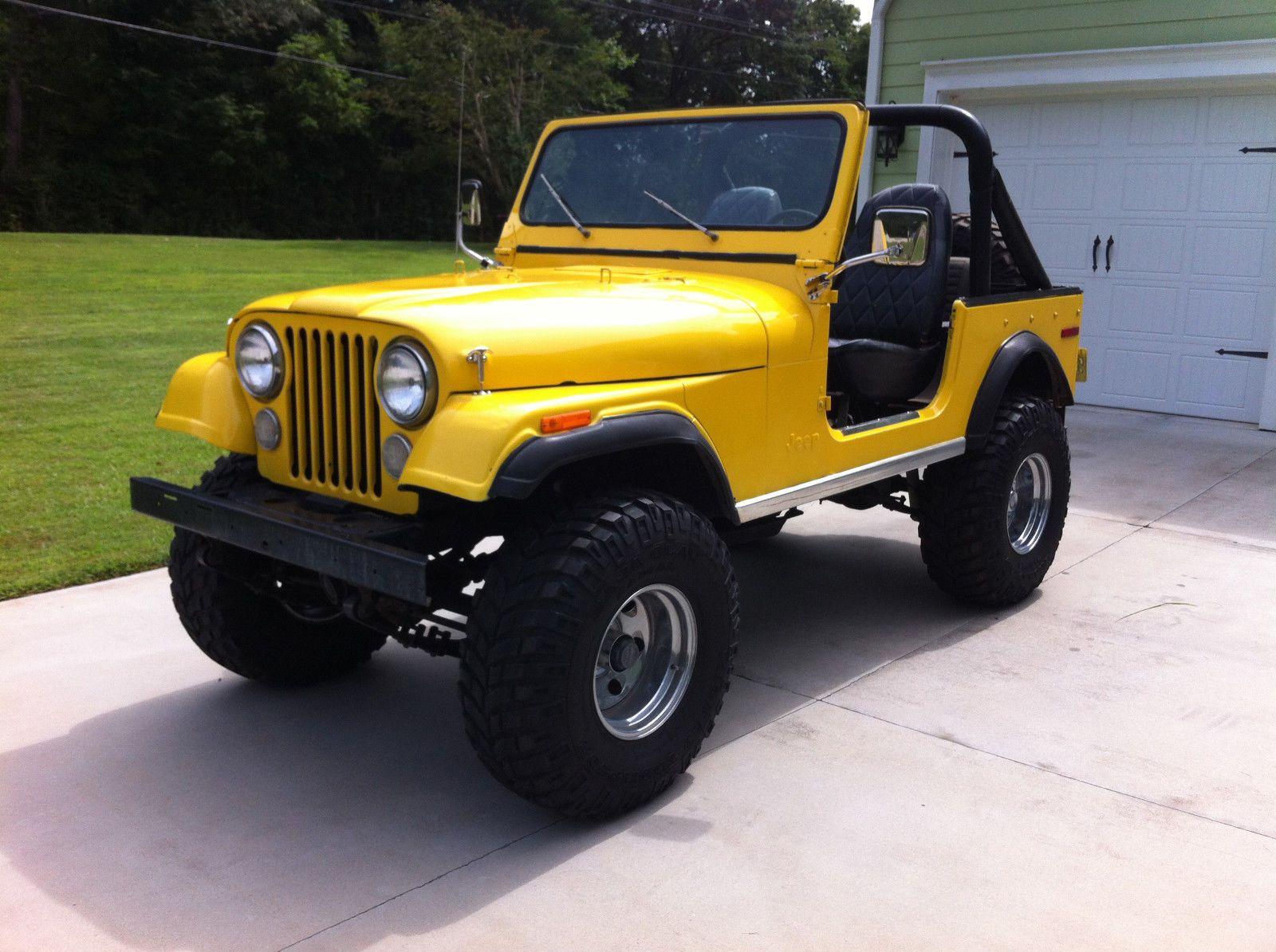 1977 Jeep CJ7 - Someday.. you will be mine.