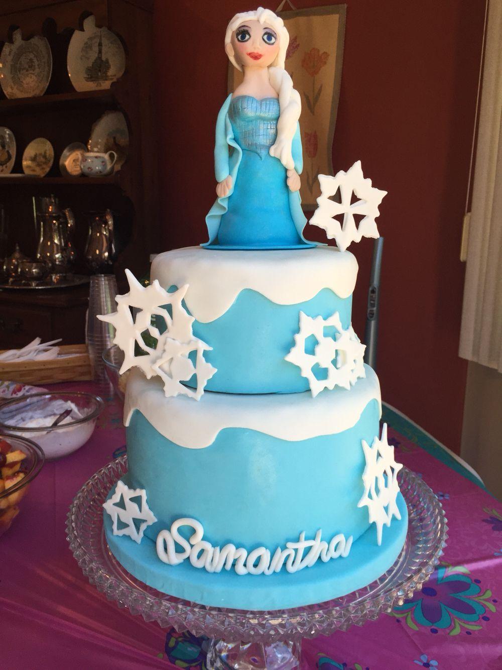 Sam's Elsa cake