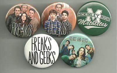 Freaks and Geeks Pin Set