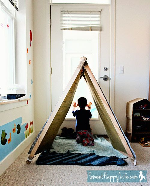 Pattern AFrame Children's Fabric and Wood.  Tent!