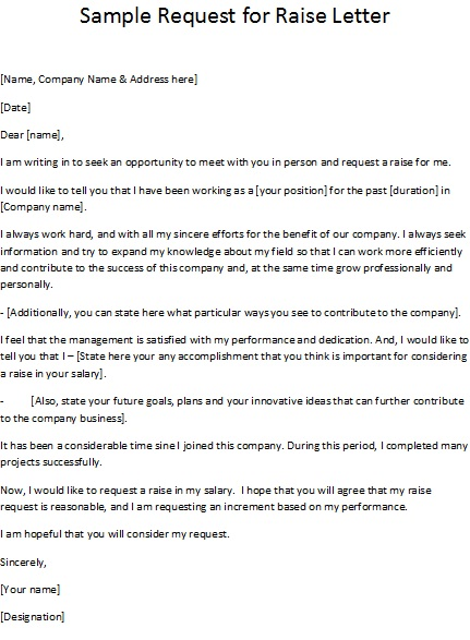 Letter Template Asking For Raise 8 Templates Example Templates Example Proposal Writing Raised Letters Lettering