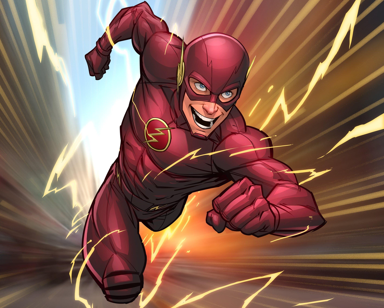 Flash Superhero Comic Art Wallpapers flash, Desenhos e