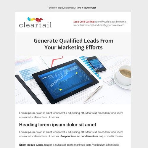 Digital Marketing/crm Consultant Email Template We are a marketing