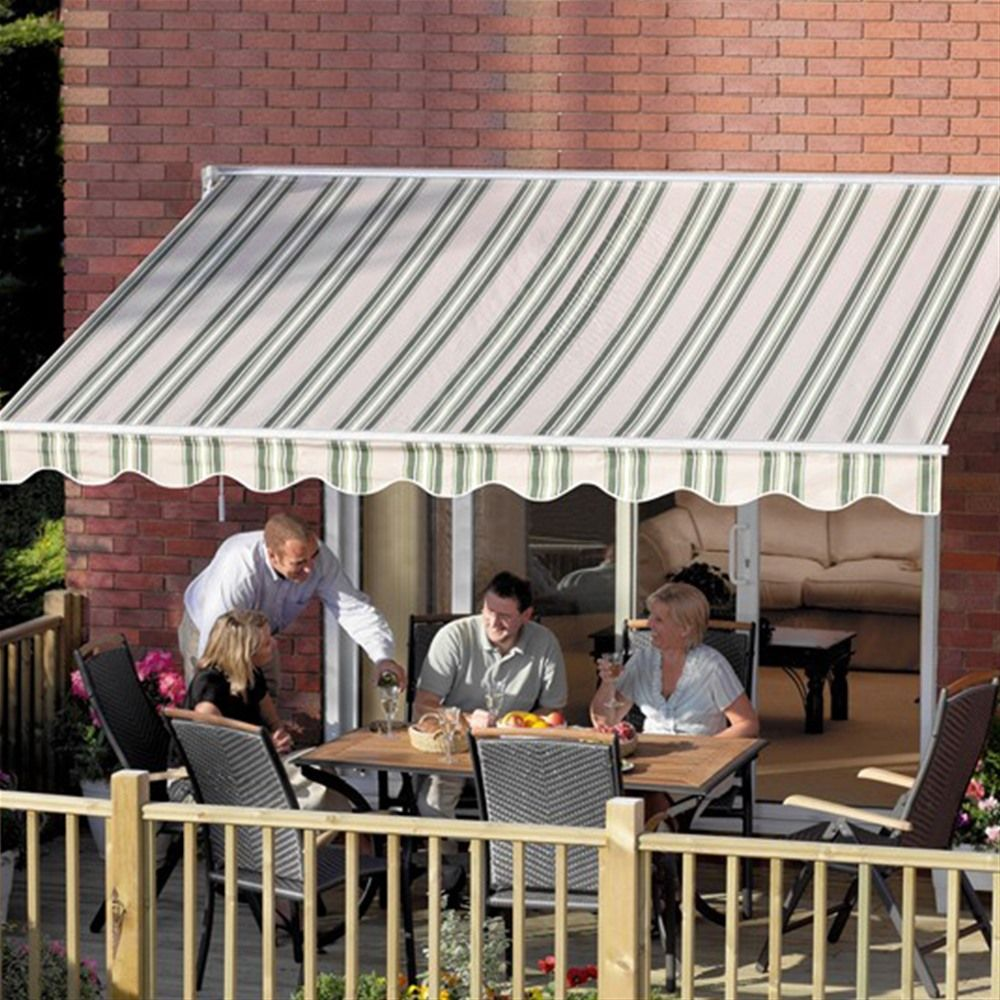 Greenhurst Ascot 2 5m Extendable Sun Awning Internet Gardener Outdoor Living Deck Patio Sun Awnings Outdoor Living Deck