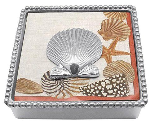Mariposa Scallop Shell Beaded Napkin Box Mariposa https://www.amazon.com/dp/B00BRJM1D2/ref=cm_sw_r_pi_dp_x_TiwaybJ3YVTJ3