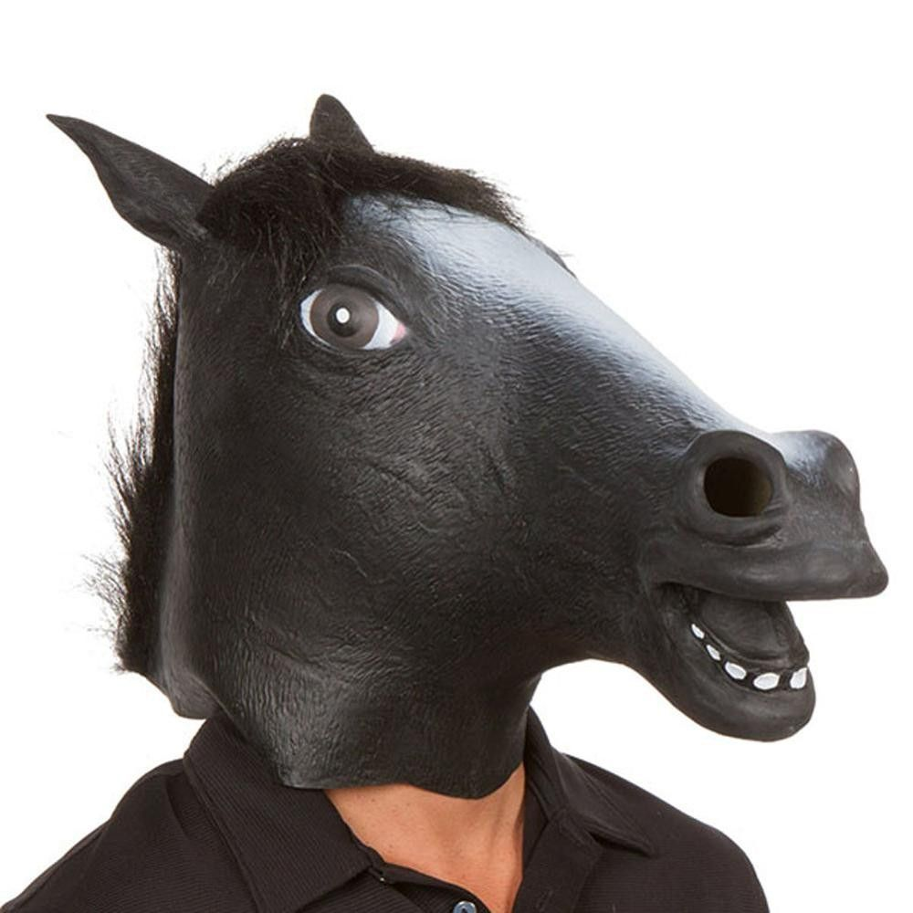 Creepy Horse Latex Mask | Models, Halloween costumes and Theater