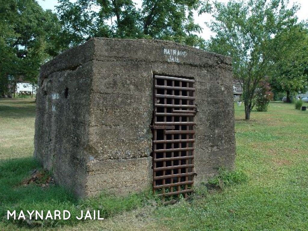 Maynard Arkansas Jail Bringing Aea Home To You With Images