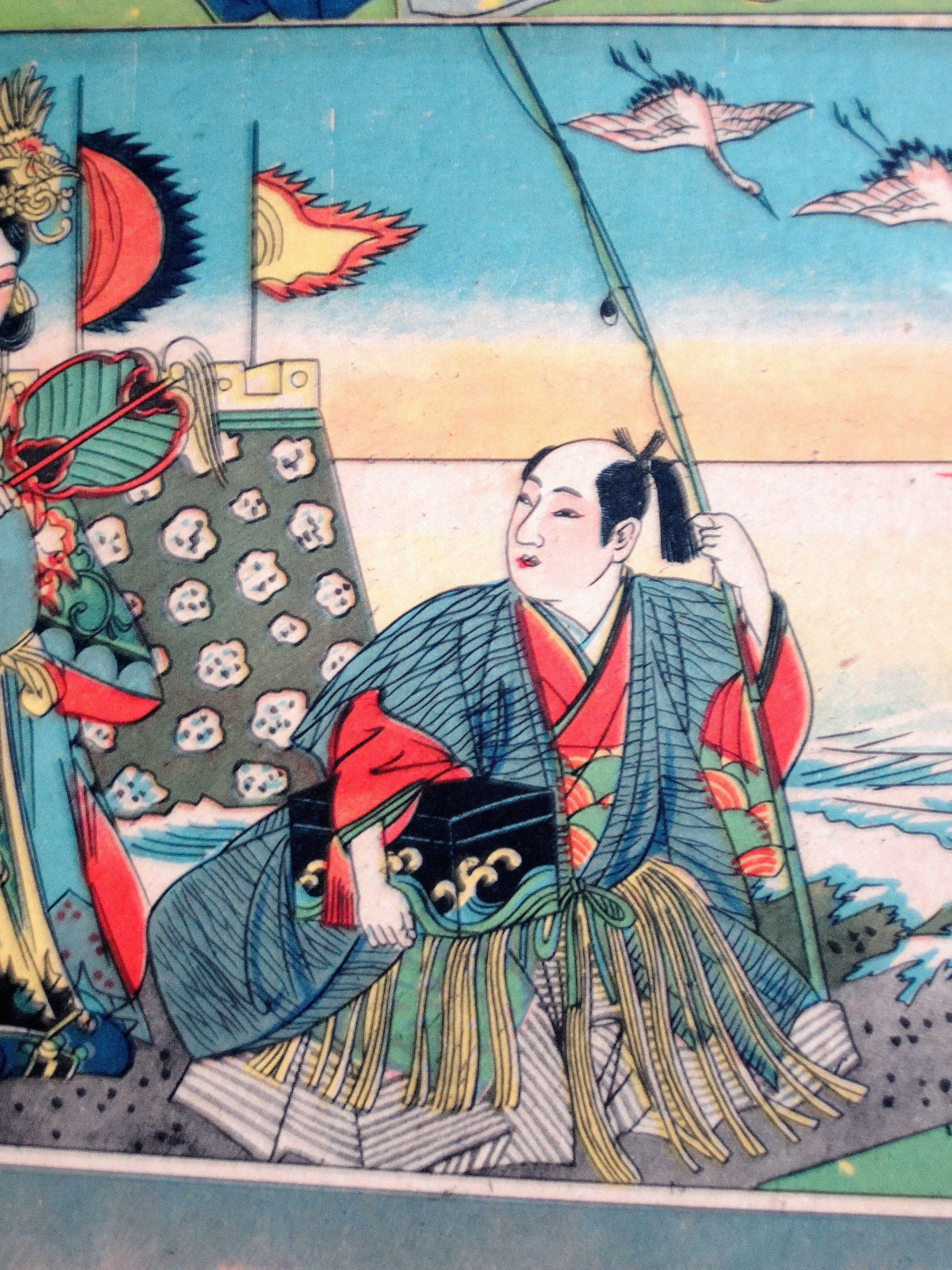 浦島太郎 Taro Urashima From An Old Tale 浦島太郎 レトロ 雑貨
