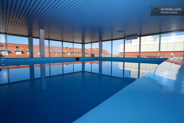 Sunbathe on the sun roof, have a cheeky dip in the swimming pool, roast in the sauna a bit, all in one listing.