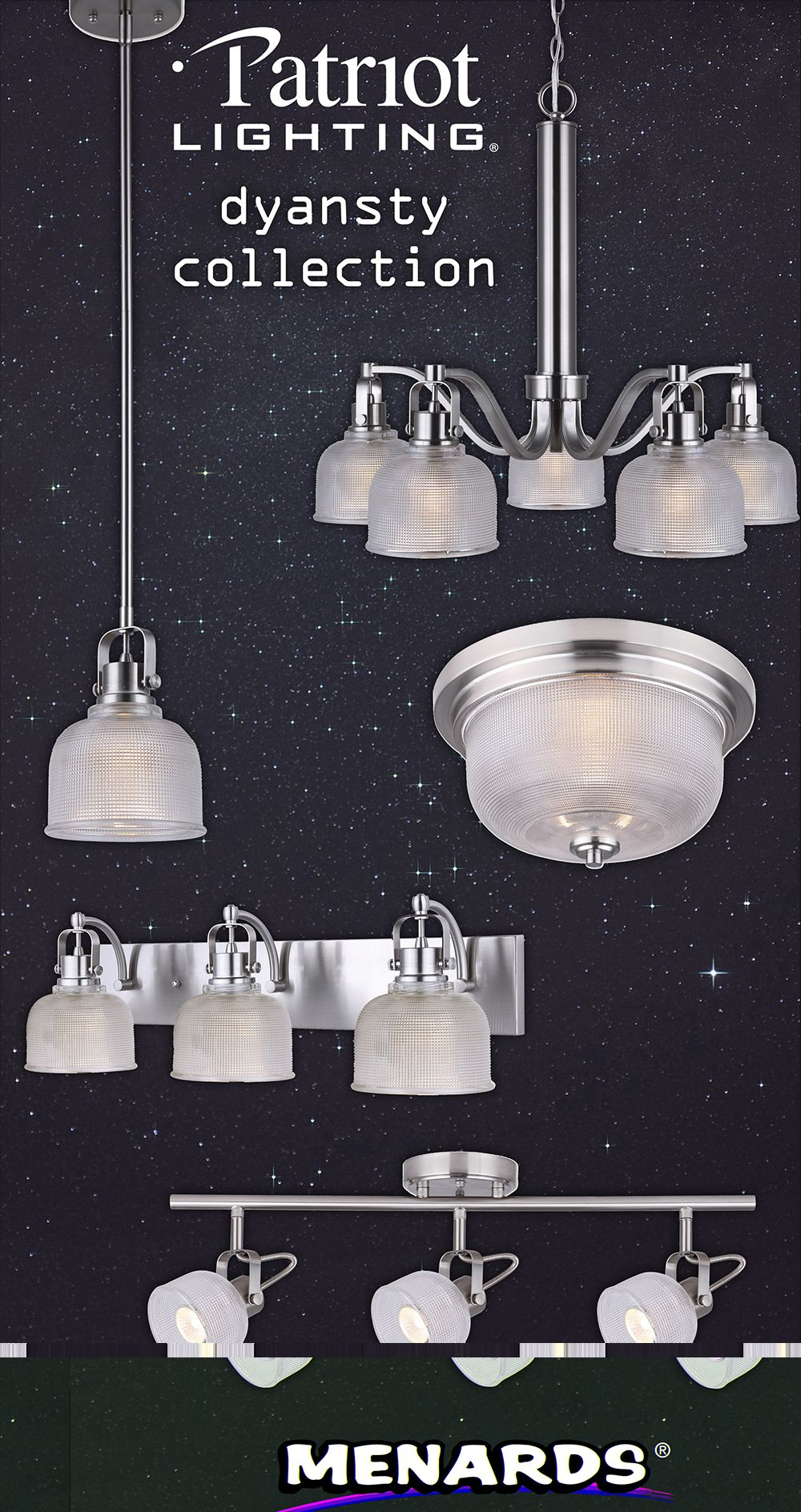 The Patriot Lighting Dynasty Collection Is Out Of
