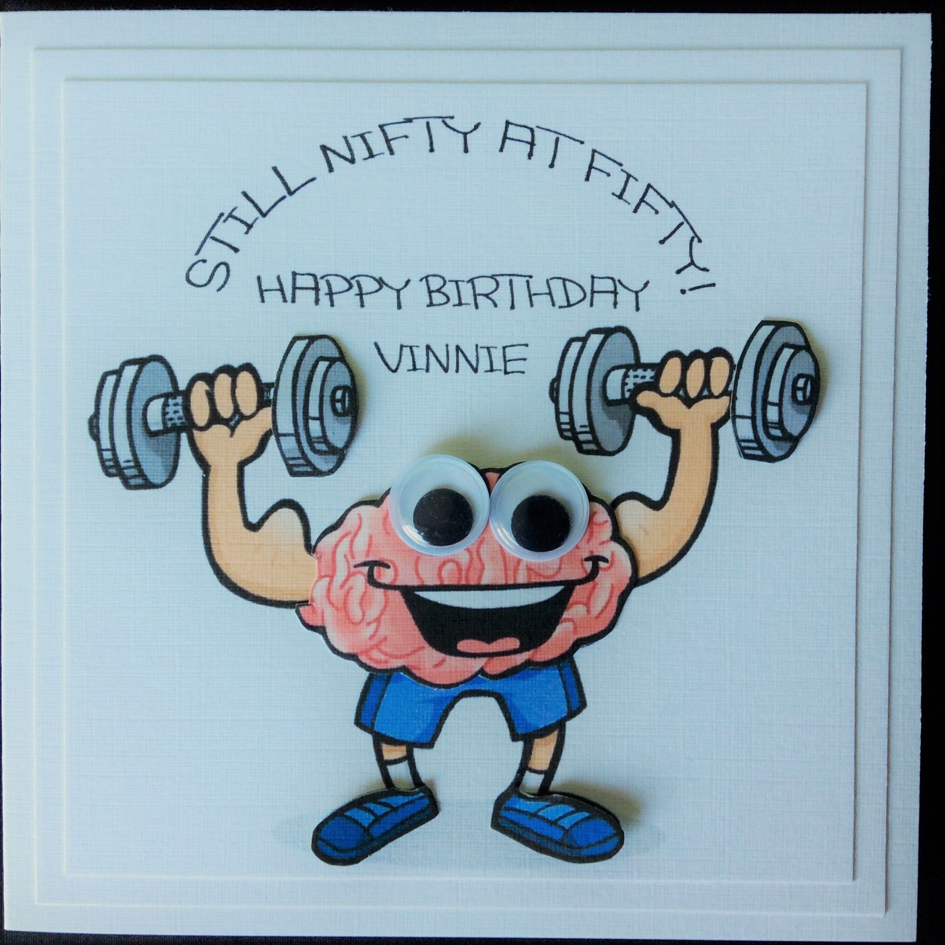 Pour Everton/'s No.1 Fan Handmade carte Carte d/'anniversaire