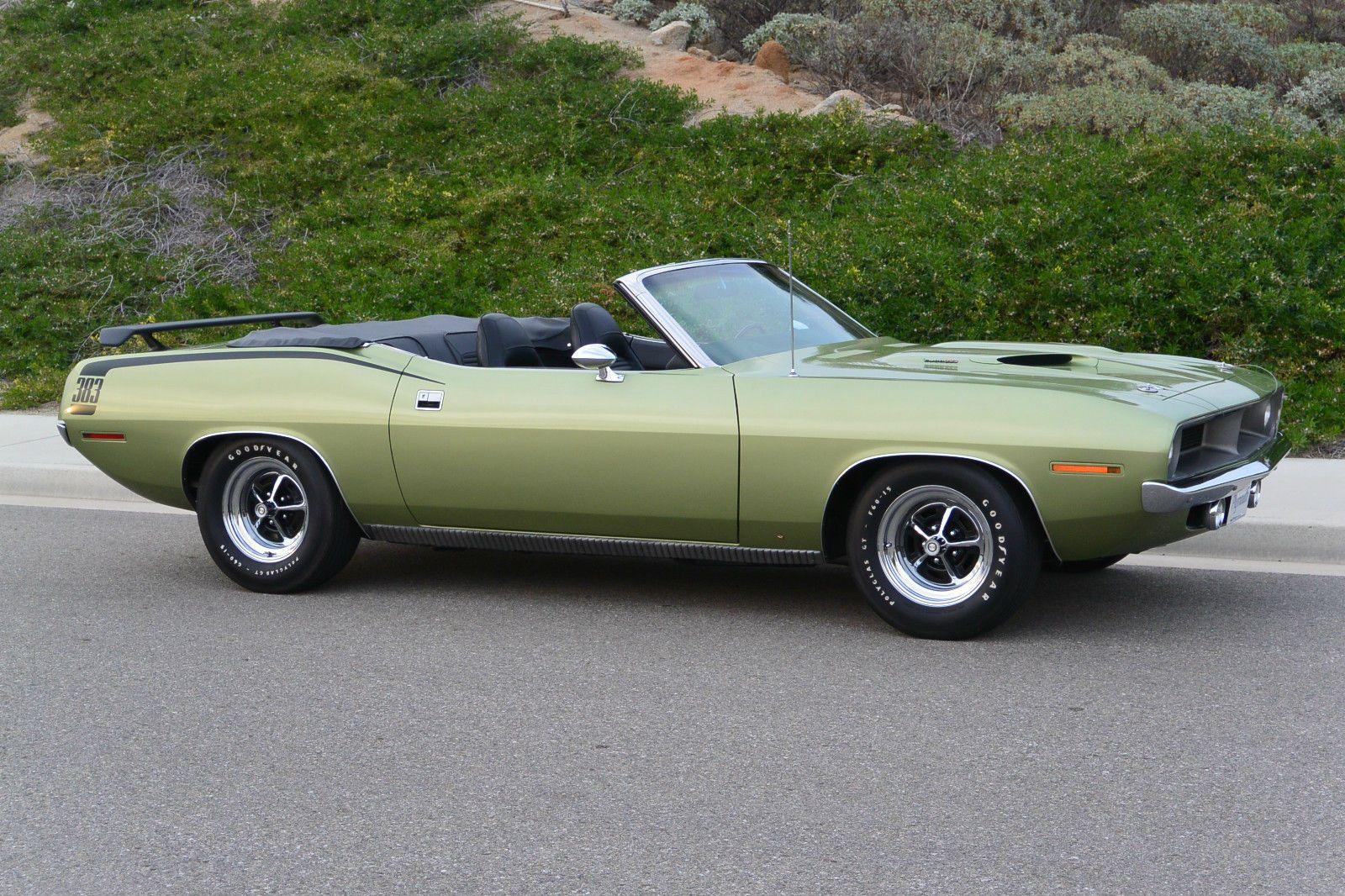 1970 Plymouth Barracuda 383 Convertible | Mopar | Pinterest ...