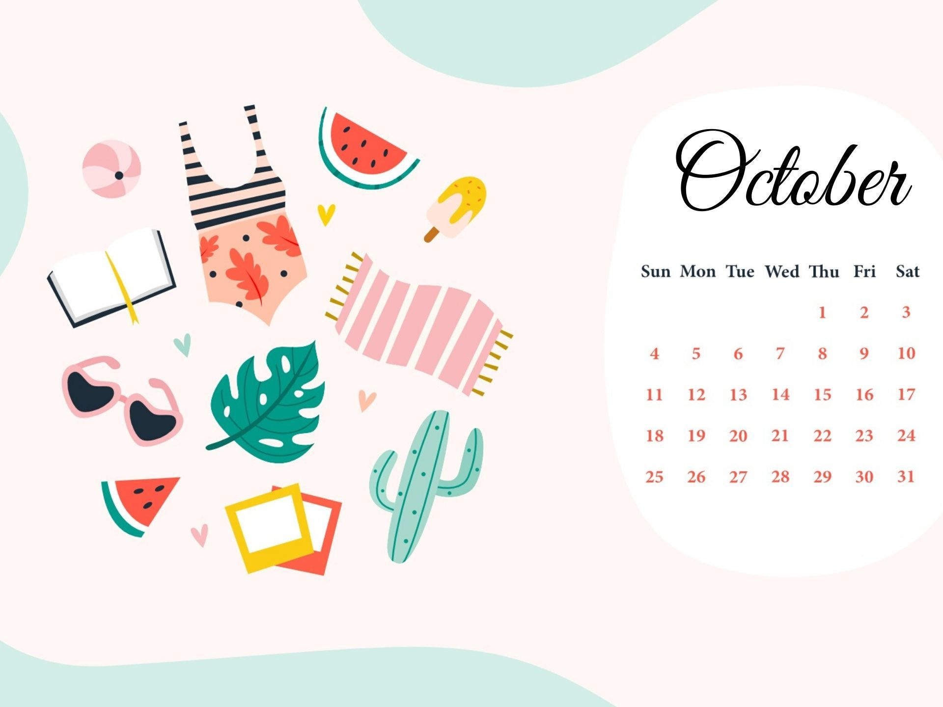 Free Download October 2020 Hd Calendar Wallpaper In 2020 Desktop Wallpaper Calendar Calendar Wallpaper February Wallpaper