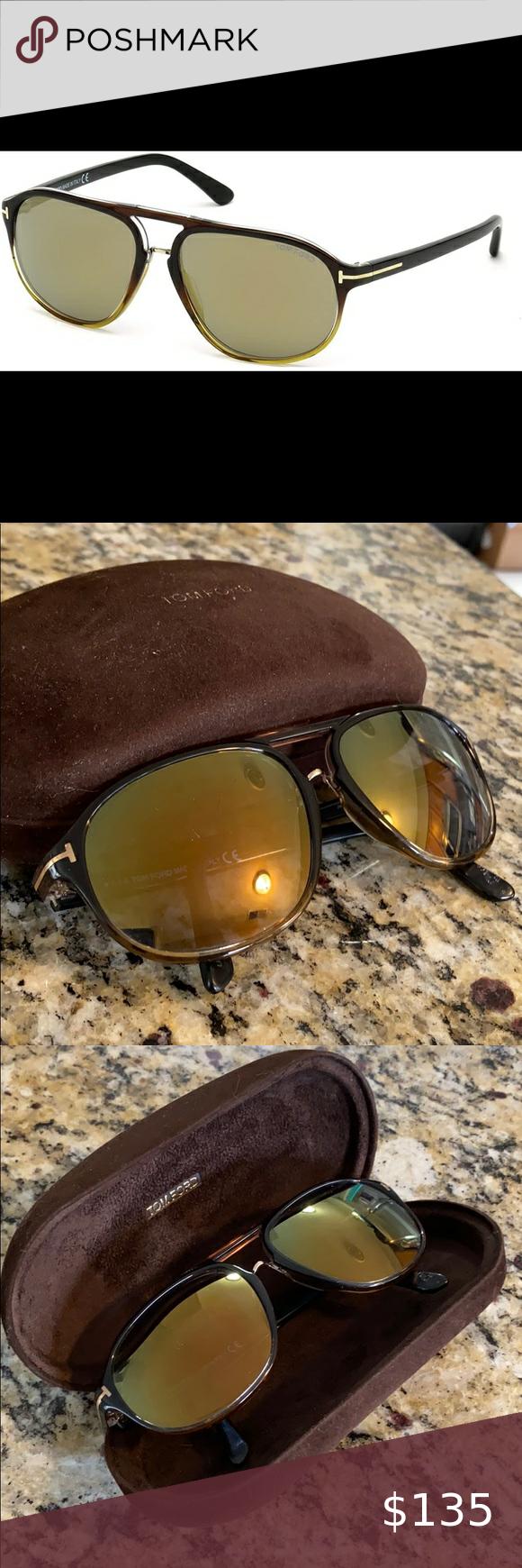 Tom Ford 447 Jacob Sunglasses 🕶 Unisex