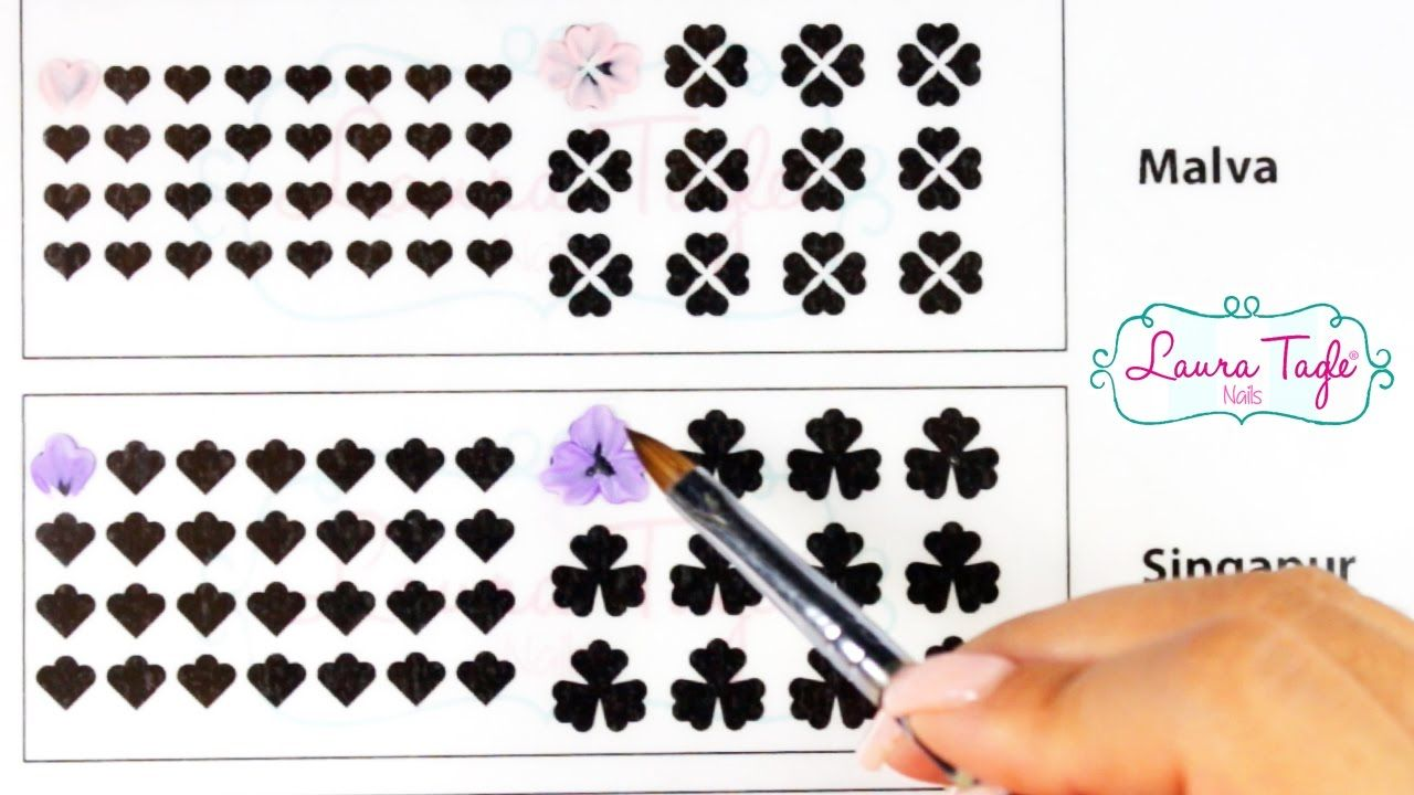 Aprende 3d Para Uñas Imprime Gratis La Planilla