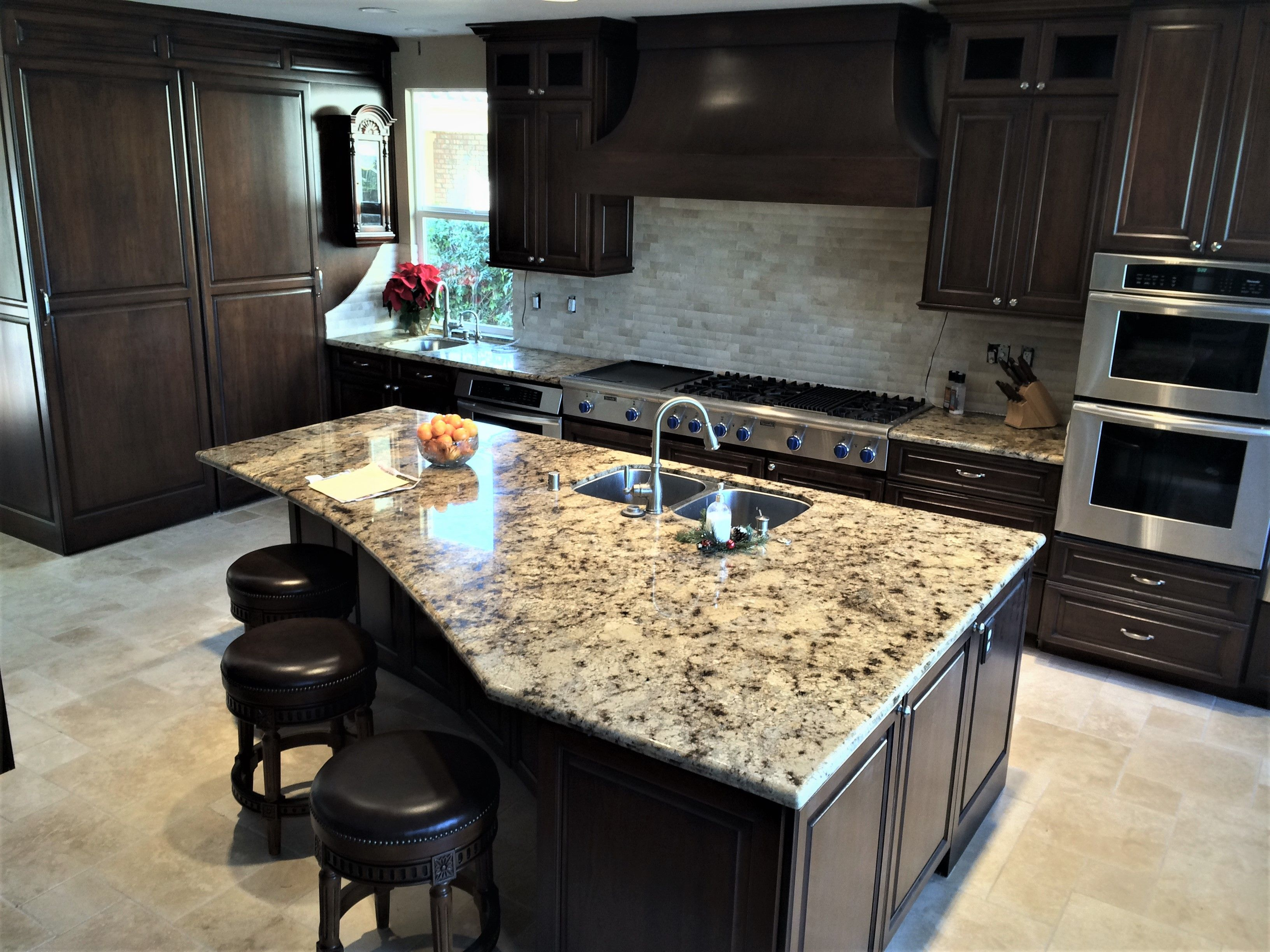 Tile And Stone On Kitchen Countertops