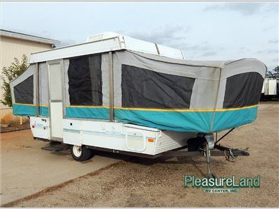 Used 1993 Coleman Destiny Rio Grande Folding Pop Up Camper At