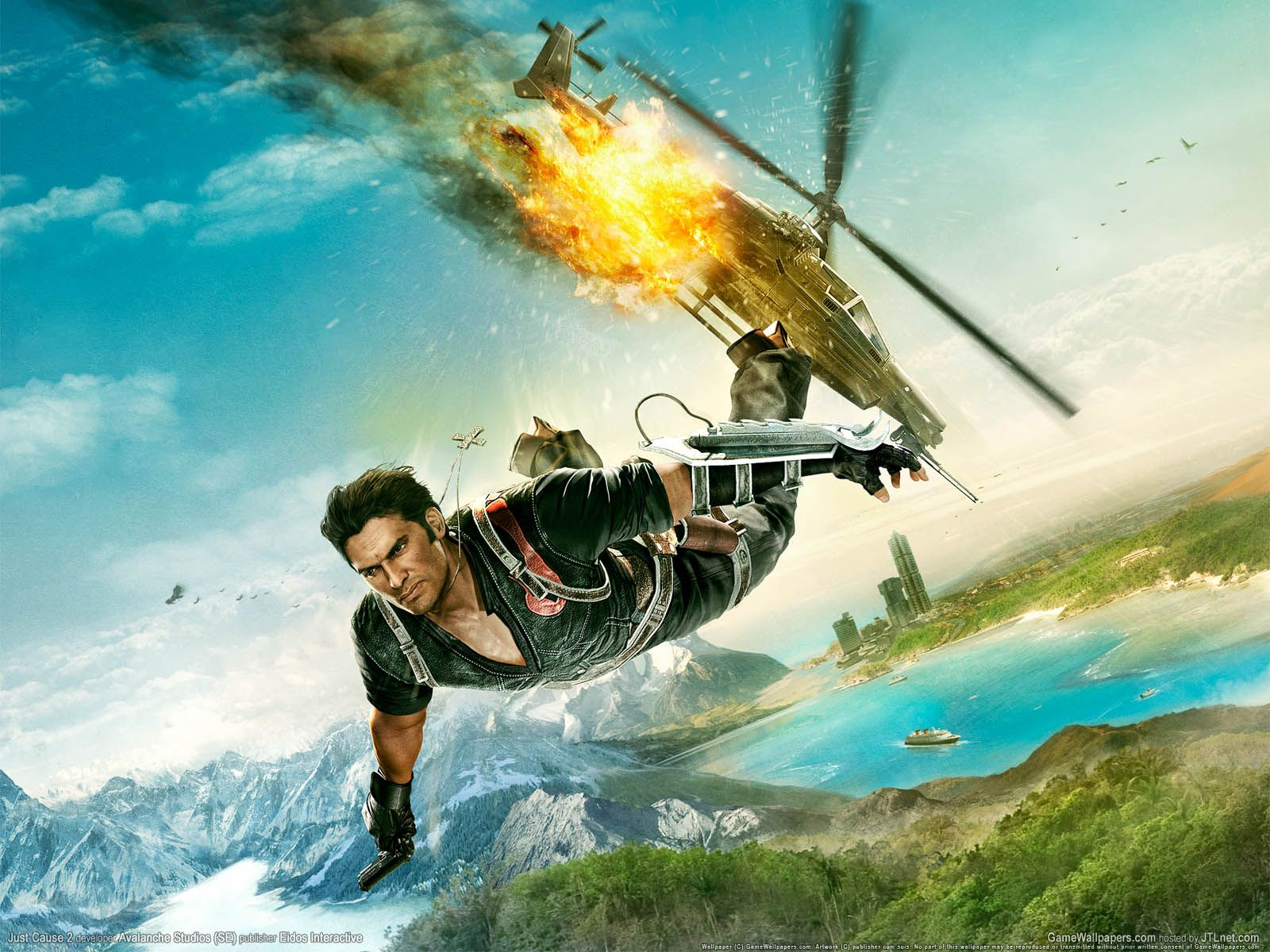 Just Cause 3 Hd Wallpapers Just Cause 2 Adventure Video Game Games